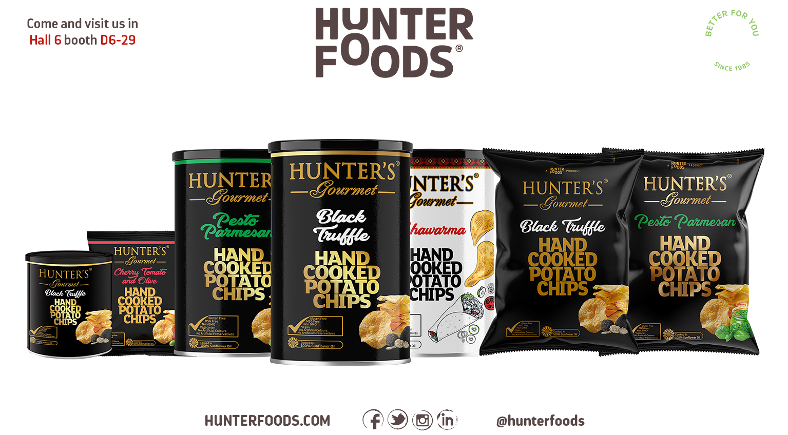 Hunter's Gourmet Hand Cooked Potato Chips