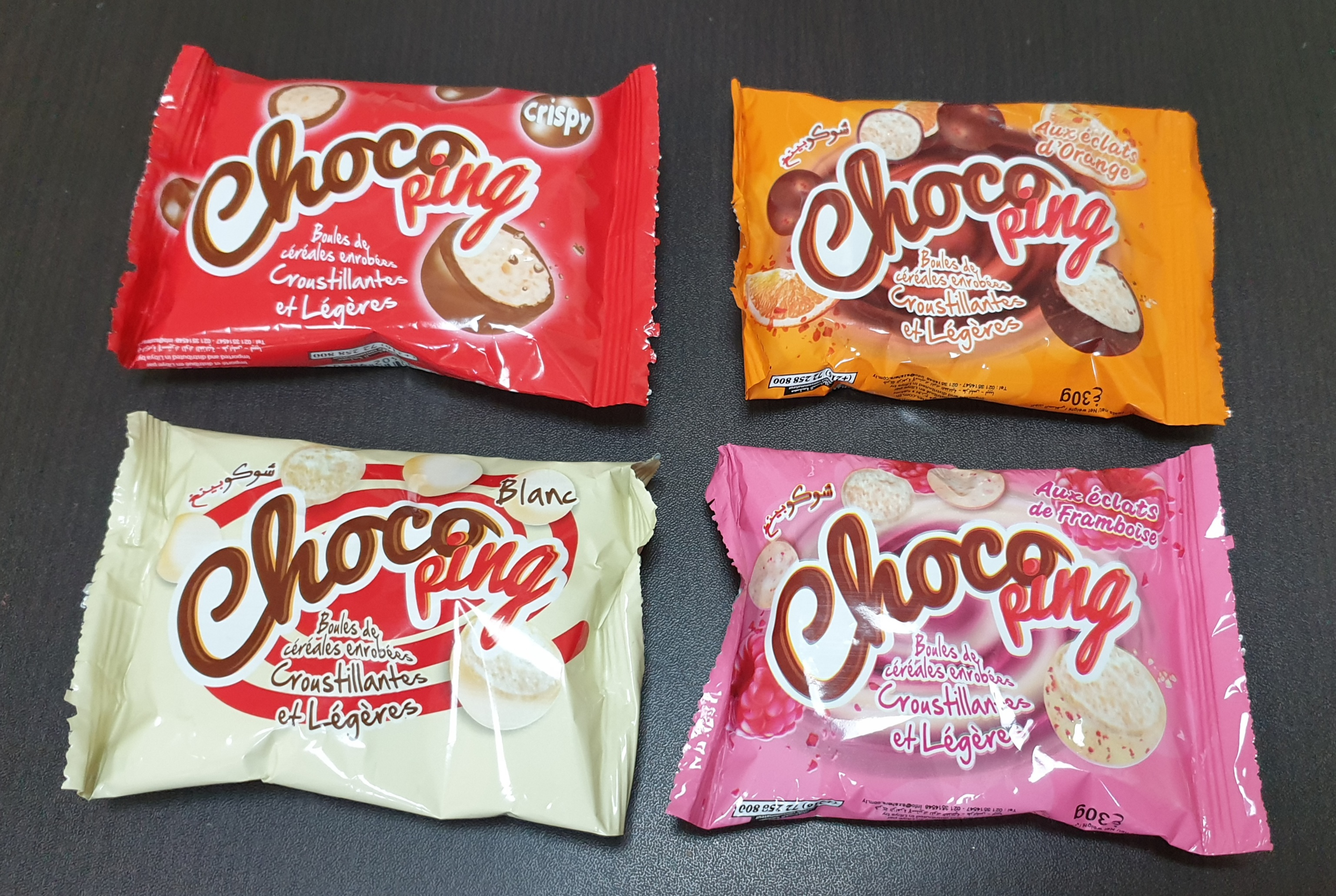 CHOCOPING PRODUCTS
