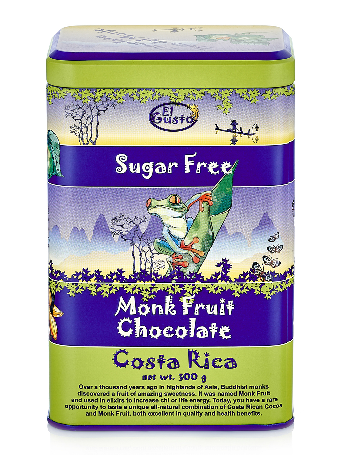 EL GUSTO MONKFRUIT COCOA POWDER, COSTA RICA ORIGIN