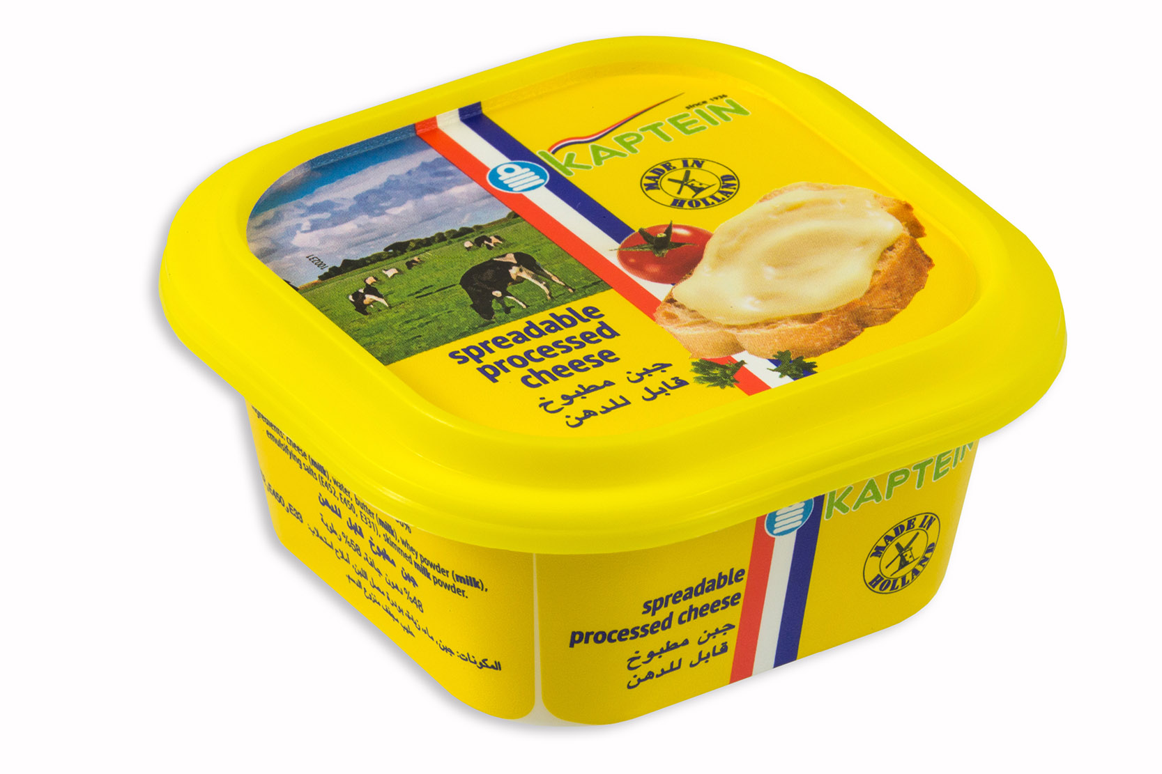 Processed spreadable cheese