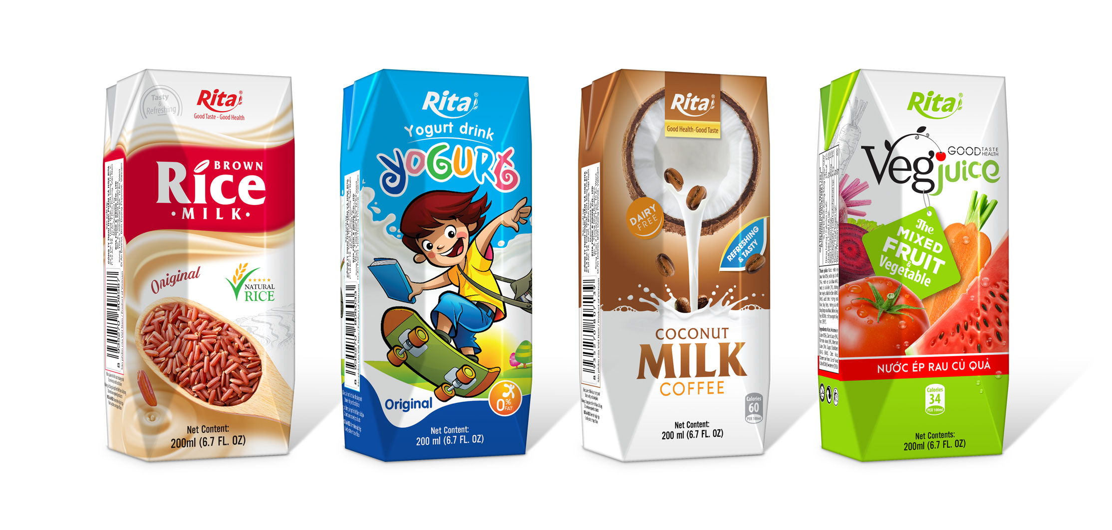 Vietnam-based Rita introduces new products with 200ml Aseptic PAK production line to preserve the fresh taste & nutrition